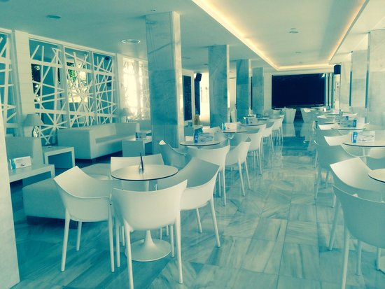 Aparthotel Rosa del Mar: Indoor eating area