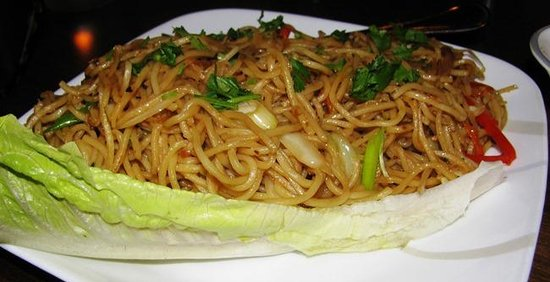 Aman's Indian Bistro: Hakka Noodles