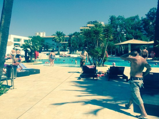Aparthotel Rosa del Mar: Pool