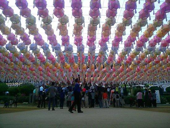 Yongjusa Temple: Prayer Lamps
