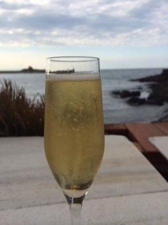 Restaurant La Balette: Aperitif by the sea!