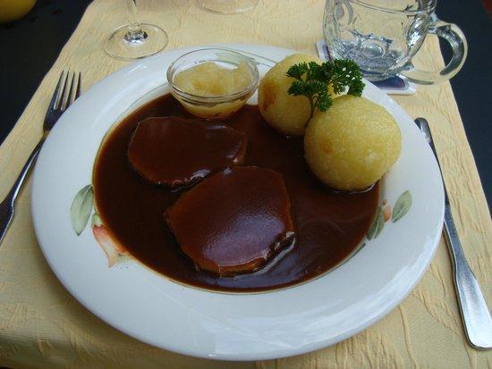 Klosterstuble: Sauerbraten