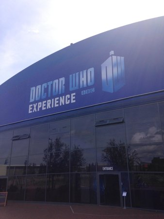 Doctor Who Experience Cardiff Bay: Outside of the whovian heaven