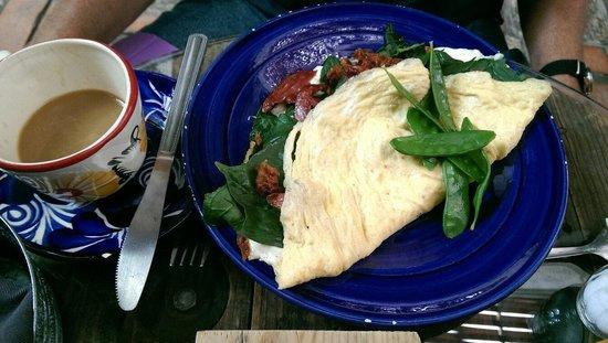 Lavanda Cafe: Omelette
