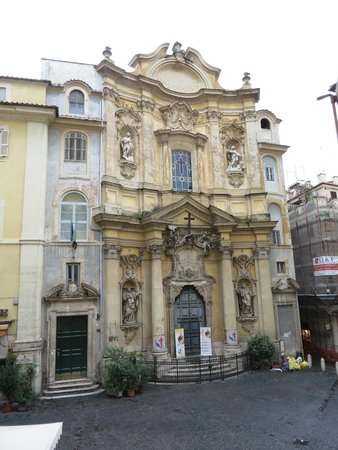 Relais Maddalena: Church of St. Mary Magdalene in the Piazza della Maddalena