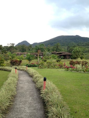 Hotel Lomas del Volcan: Hotel grounds