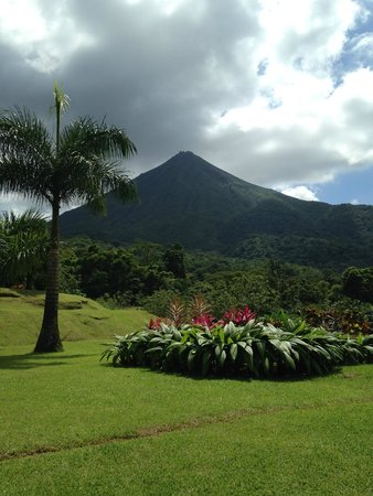 Hotel Lomas del Volcan: View from lunch