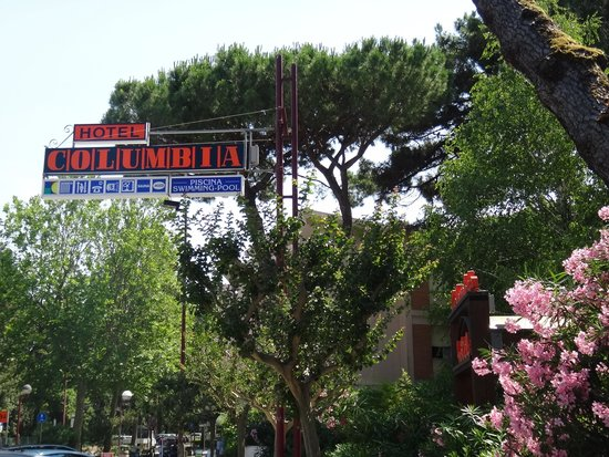 Hotel Columbia: ingresso hotel
