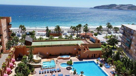 Almunecar Playa Spa Hotel: Maravillosas vistas
