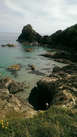 The Lizard and Kynance Cove: Such clear water