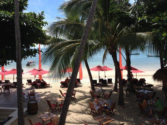 Anantara Rasananda Koh Phangan Villas: our breakfast view