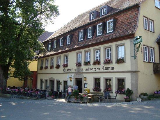 Hotel-Gasthof Schwarzes Lamm : 19 June 2014
