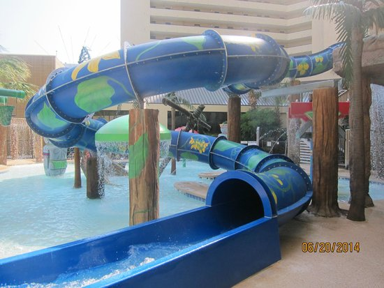 """Ocean Reef Resort: water slide (must be 48"""" tall)"""