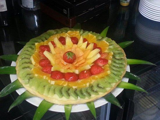 Giallo Limone : gâteau pour l'anniversaire