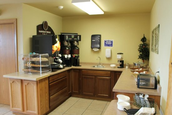 Deer Valley Lodge & Golf: Barneveld, Deer Valley Lodge, Breakfast Area