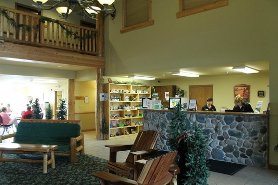 Deer Valley Lodge & Golf: Barneveld, Deer Valley Lodge, Front Desk