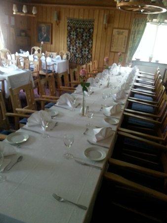 Brakanes Hotel: Restaurante Tipico