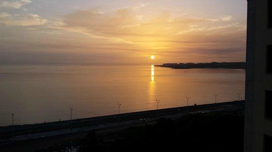 Hotel Nacional de Cuba: Vista del amanecer desde la habitacion