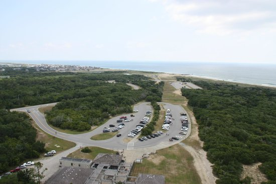 View from Top of Cape Hatteras Lighthouse