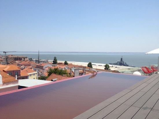 Memmo Alfama Hotel : Pool Memmo Alfama