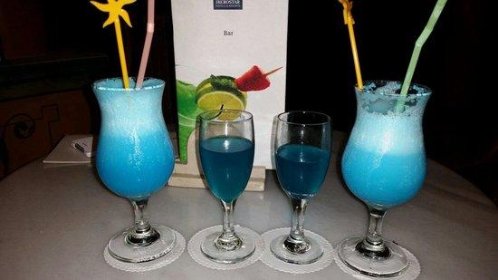 Iberostar Varadero : Blue hawaii cocktail and kamakzi