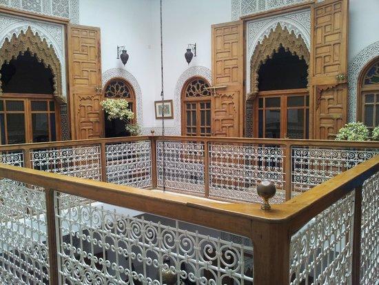 Riad Dar El Kebira : Level one of the Riad.