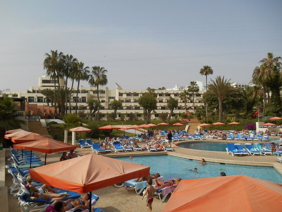 Club Marmara Agadir: coté piscine