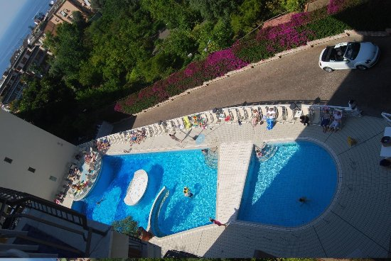 Conca Park Hotel: View of the pool from the room