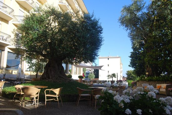 Conca Park Hotel: Lounging in the courtyard