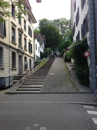 Hotel Alexander : nearby access to ETH (just 137 steps)
