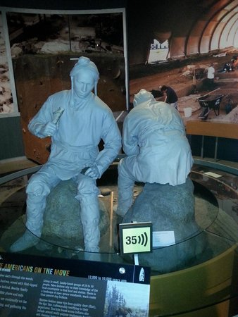 Indiana State Museum: Exhibit at the museum