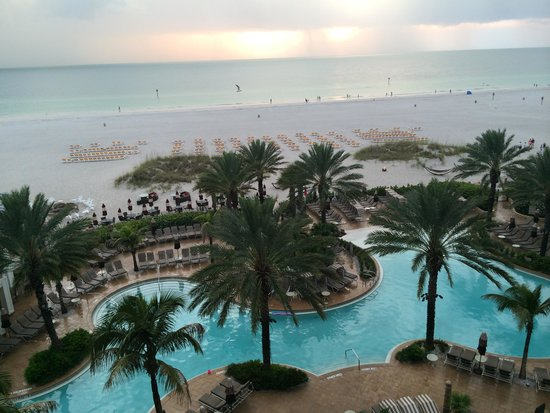 Sandpearl Resort: Sunset View from the Junior Suite