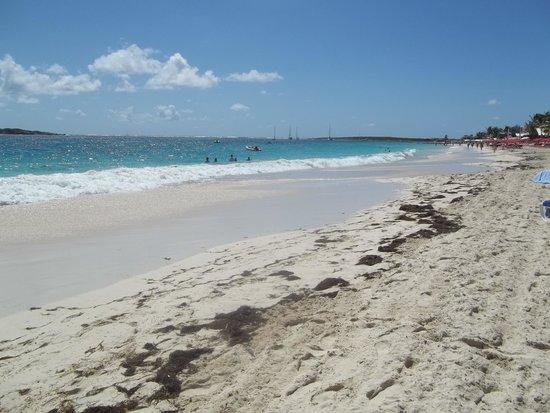 Orient Bay Beach : The beach
