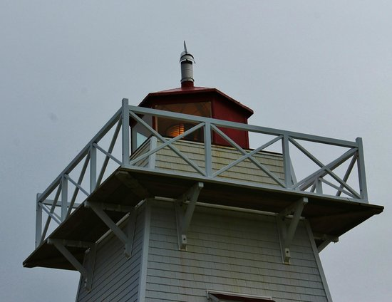North Rustico Beach: View of the top