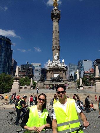Mexico Bike Tour: Avenida Reforma