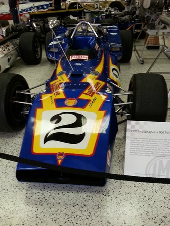 Indianapolis Motor Speedway Museum : Exhibit in the museum