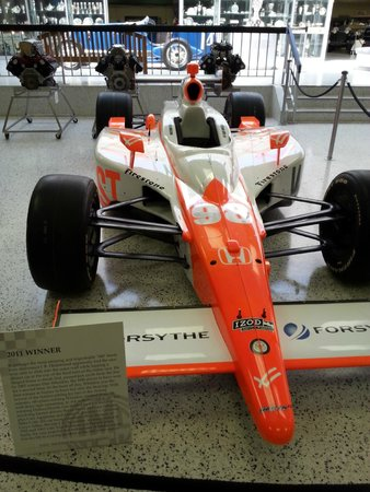 Indianapolis Motor Speedway Museum: Exhibit in the museum