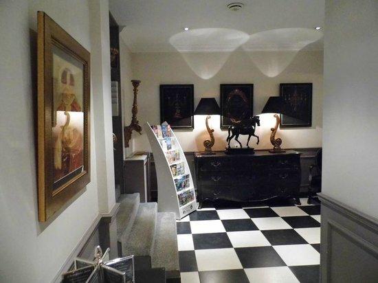 Hôtel Villa d'Est : Lobbybereich