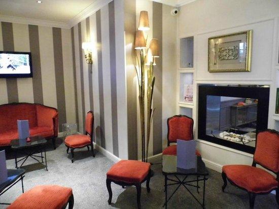 Hôtel Villa d'Est : Lounge