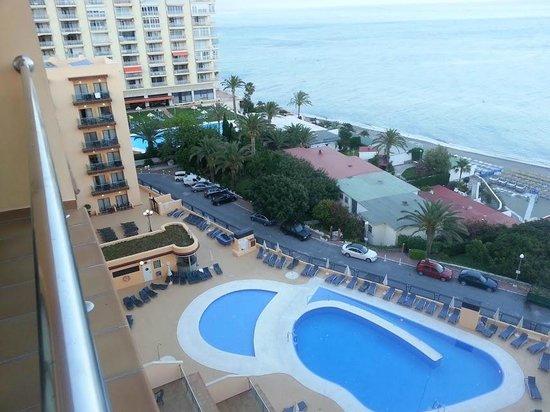 Apartamentos Pierre & Vacances Torremolinos Stella Polaris: uitzicht naar linksvoor
