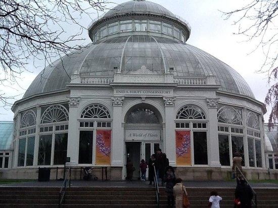 New York Botanical Garden: Entrada do Jardim Botânico