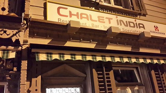 Chalet India: The billboard