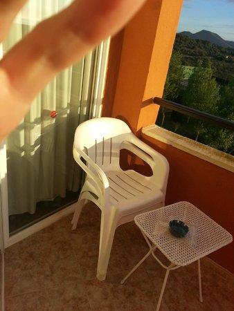 HSM Canarios Park: balcony