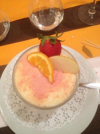 Le Cafe de l'Union : un petit dessert