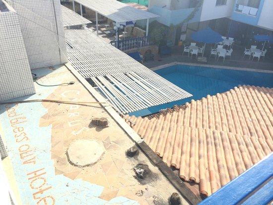 Nereus Hotel : вид на бассейн