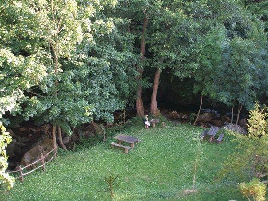 Alesga Hotel Rural : Vista desde nuestra habitación