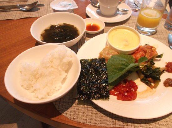 Conrad Seoul: 朝食