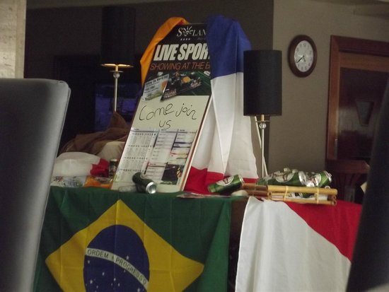 Solana Hotel: World Cup listing for Guest in Lobby/Reception/Puccini Bar