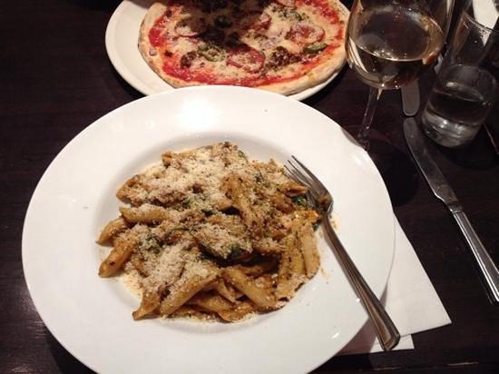 Piazza: delicious Penne Pasta