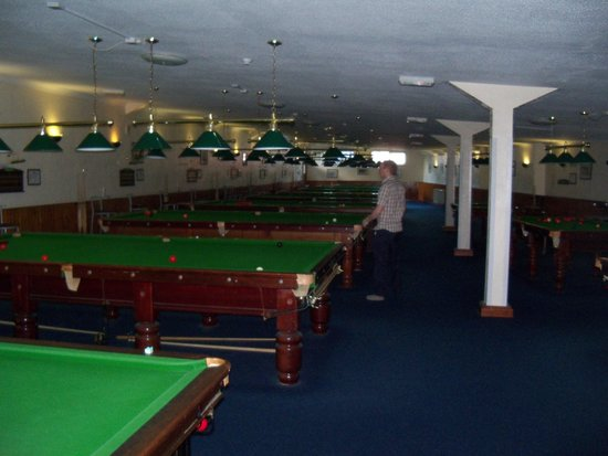 The Ashbury Hotel: the snooker hall